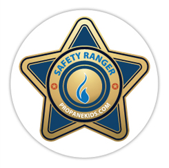 Safety ranger badge